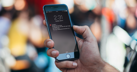 Control4 Mobile Alerts