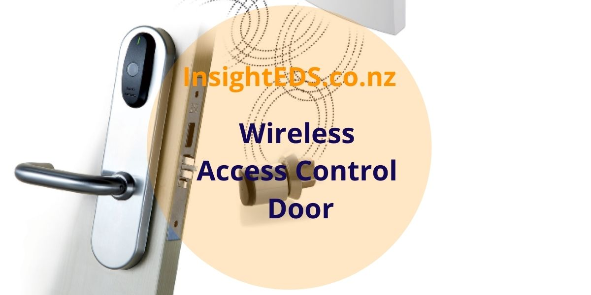 Wireless Access Control Door
