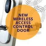 New Wireless Access Control Door