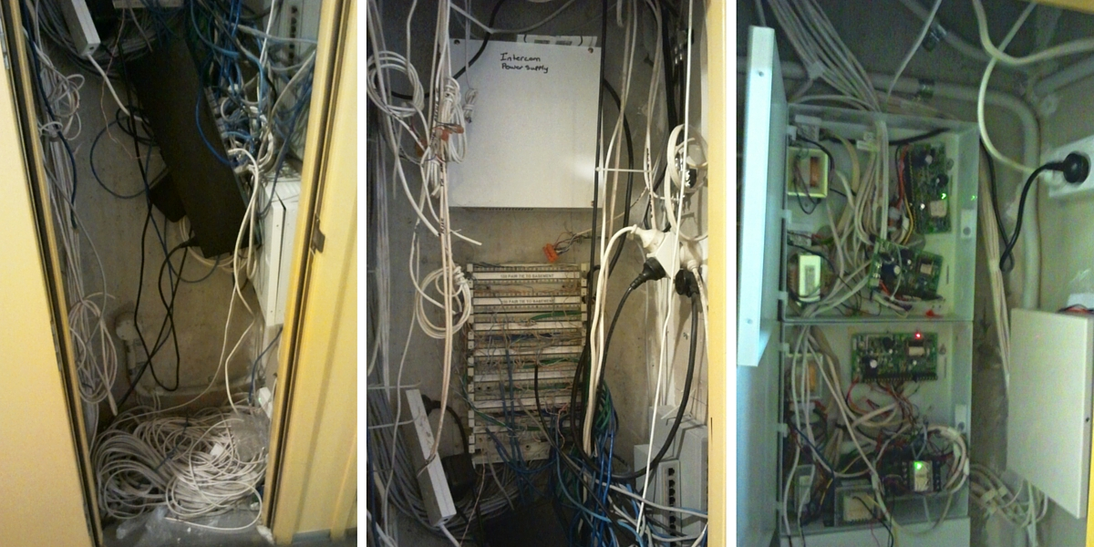 Access Control System - Before