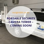 Portable Security Camera Tower - Coming Soon!