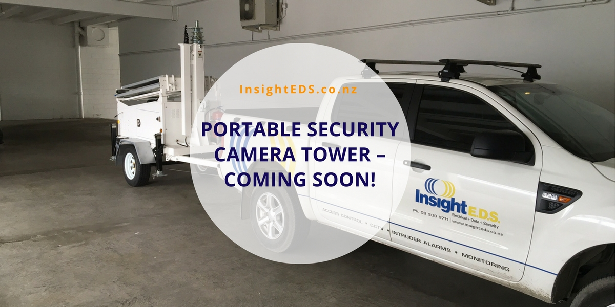 Portable Security Camera Tower