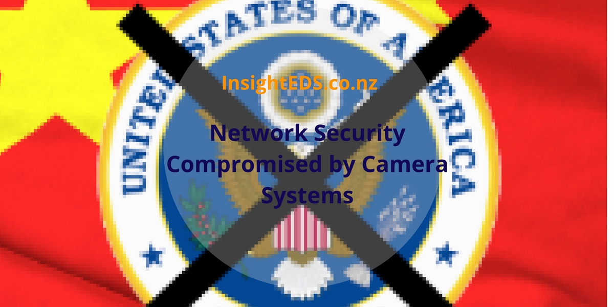 Network Security Compromised by Camera Systems