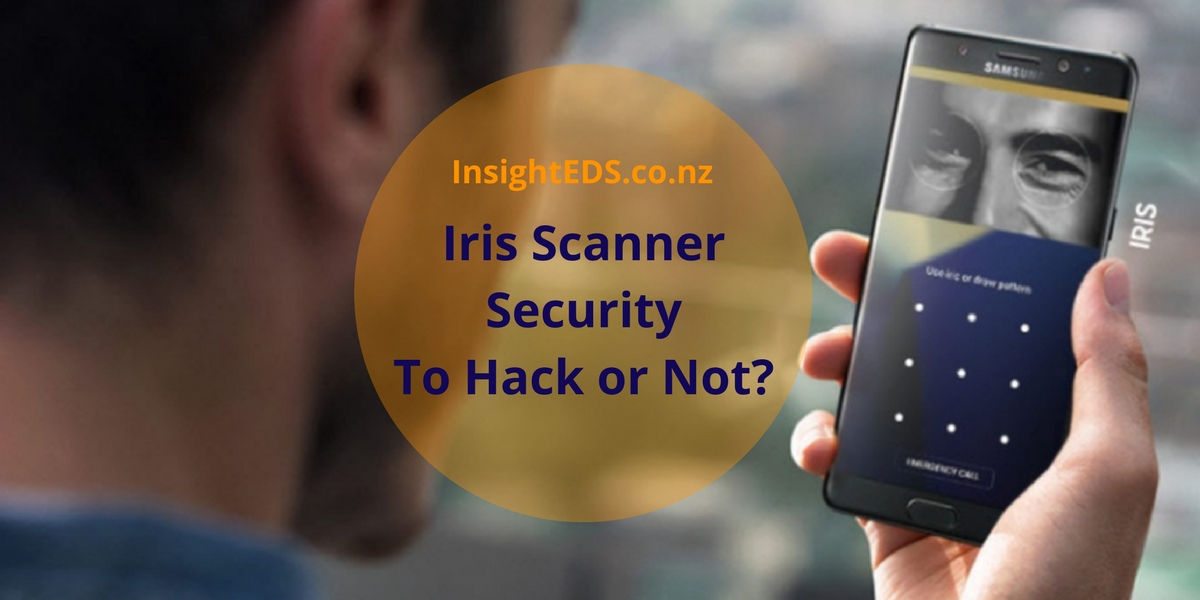 Iris Scanner Security