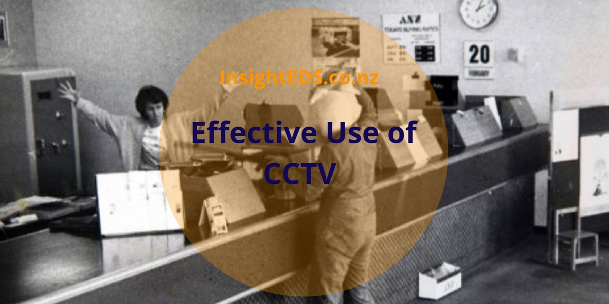 Effective Use of CCTV