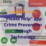 """Please Help"" app - Crime Prevention through Technology"