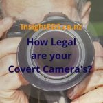 How Legal are your Covert Cameras?