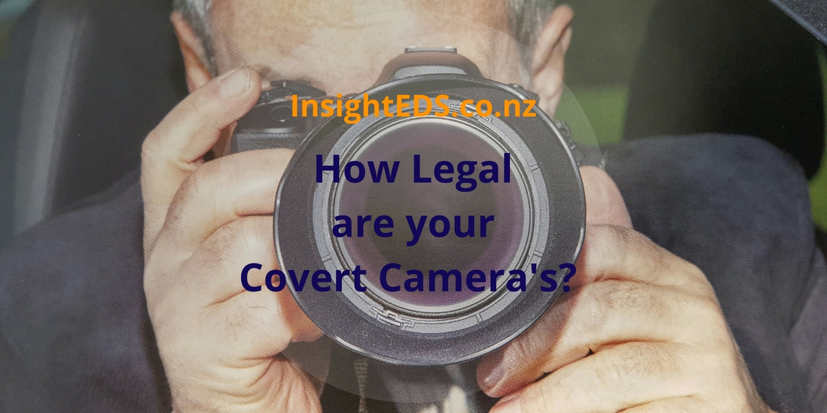 How Legal are your Covert Camera's?