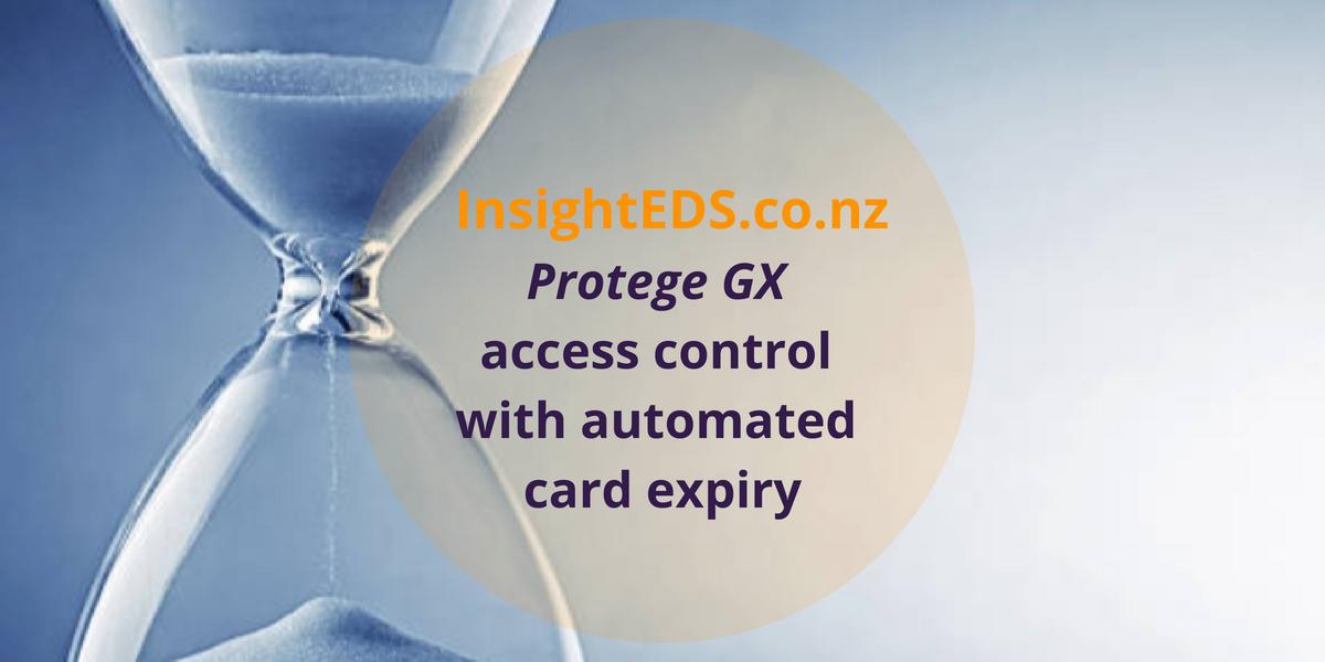 Protege GX access control