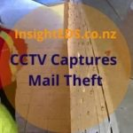 CCTV Footage Captures Mail Theft