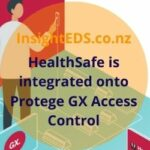 HealthSafe is integrated onto Protege GX Access Control