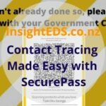 Contact Tracing Made Easy with SecurePass